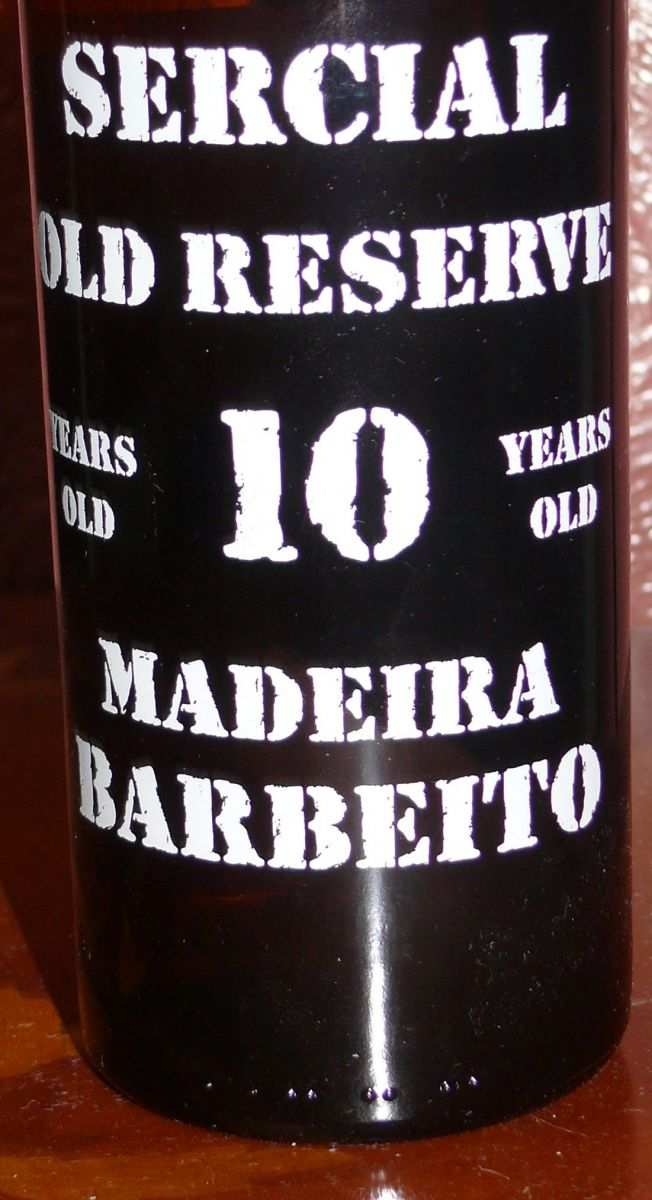 Barbeito 10 year Sercial