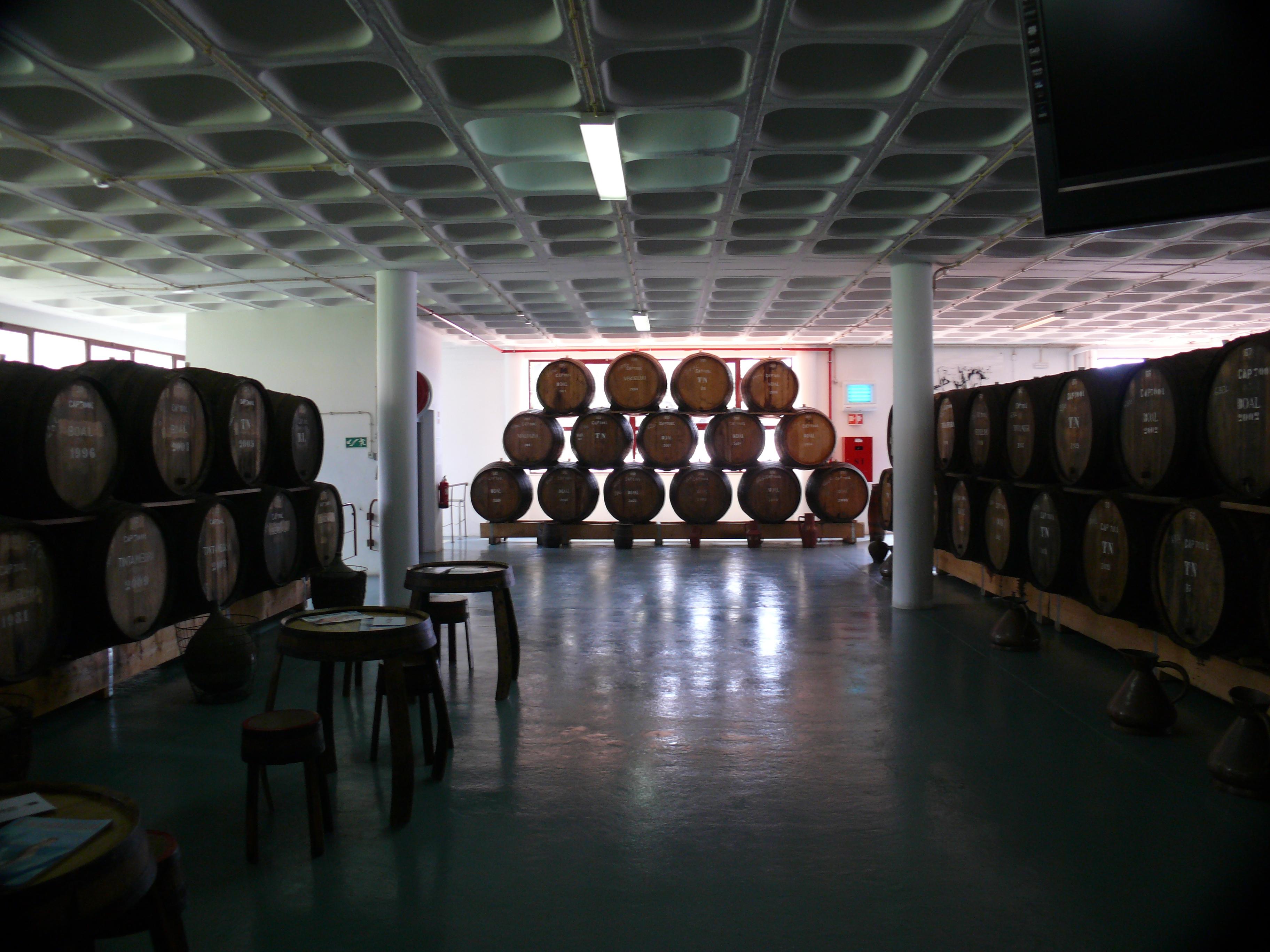 Madeiran sun gently maturing Madeira wines