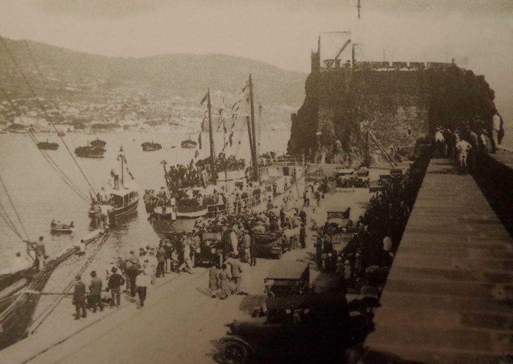 Funchal quay