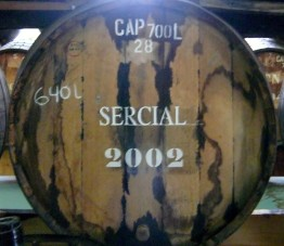 Sercial barrel