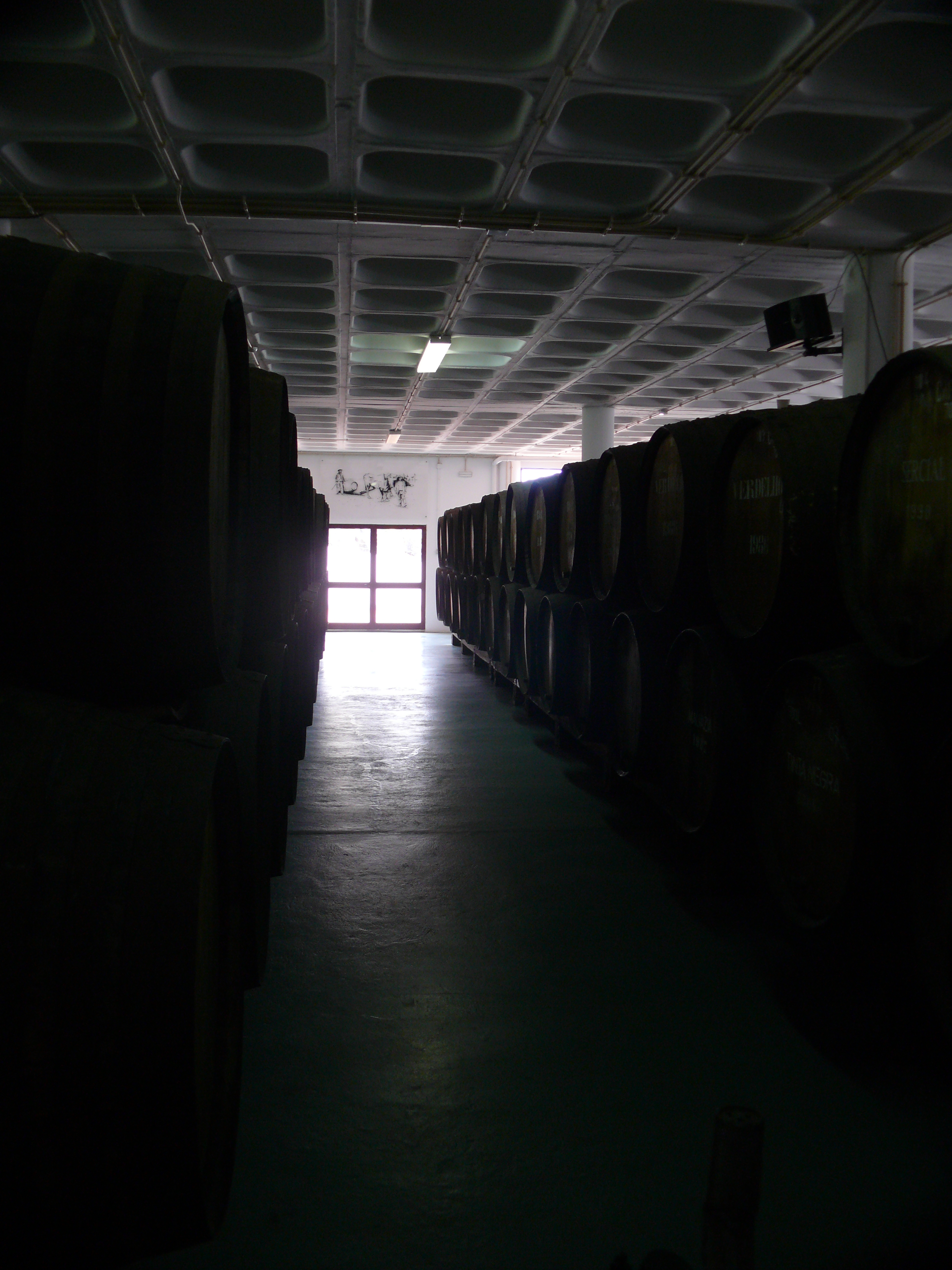 Canteiro aging of Madeira wine
