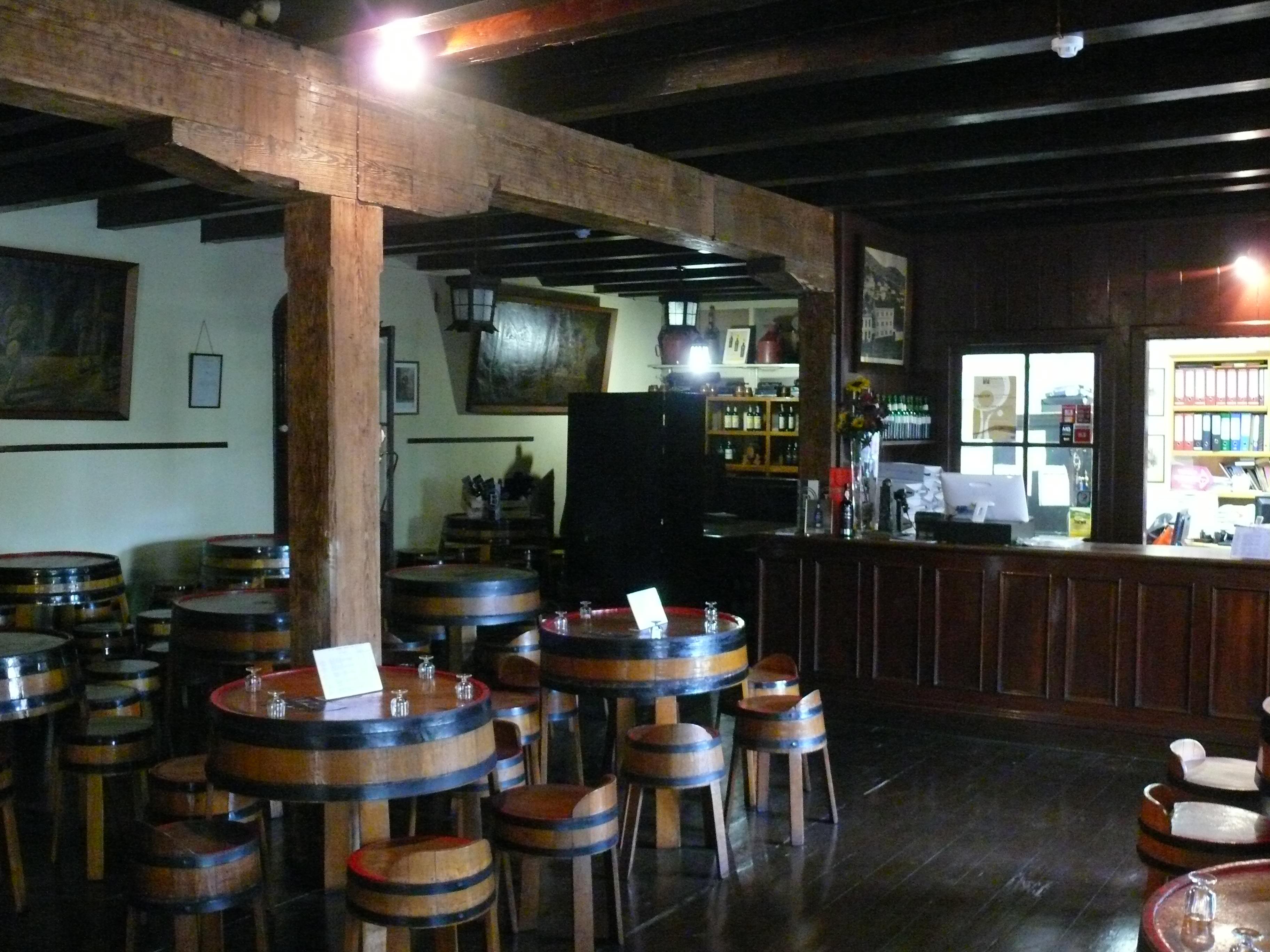 Borges tasting rooms