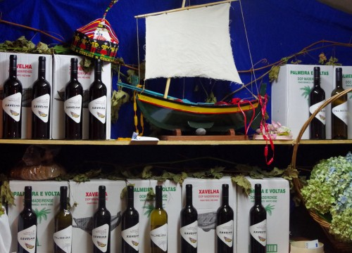 Xavelha Madeiran table wine at the Madeira wine festival
