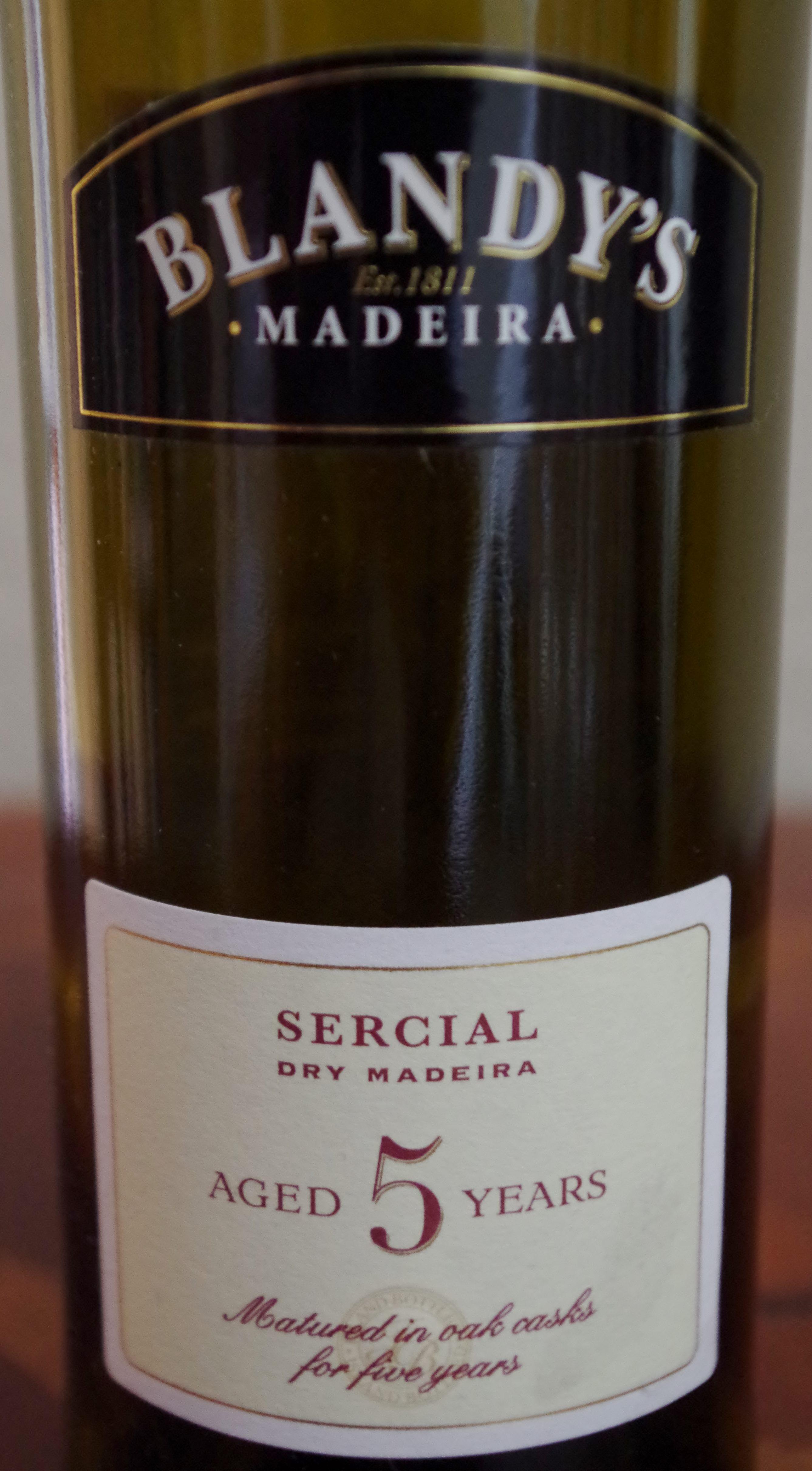 Blandy's Sercial Madeira
