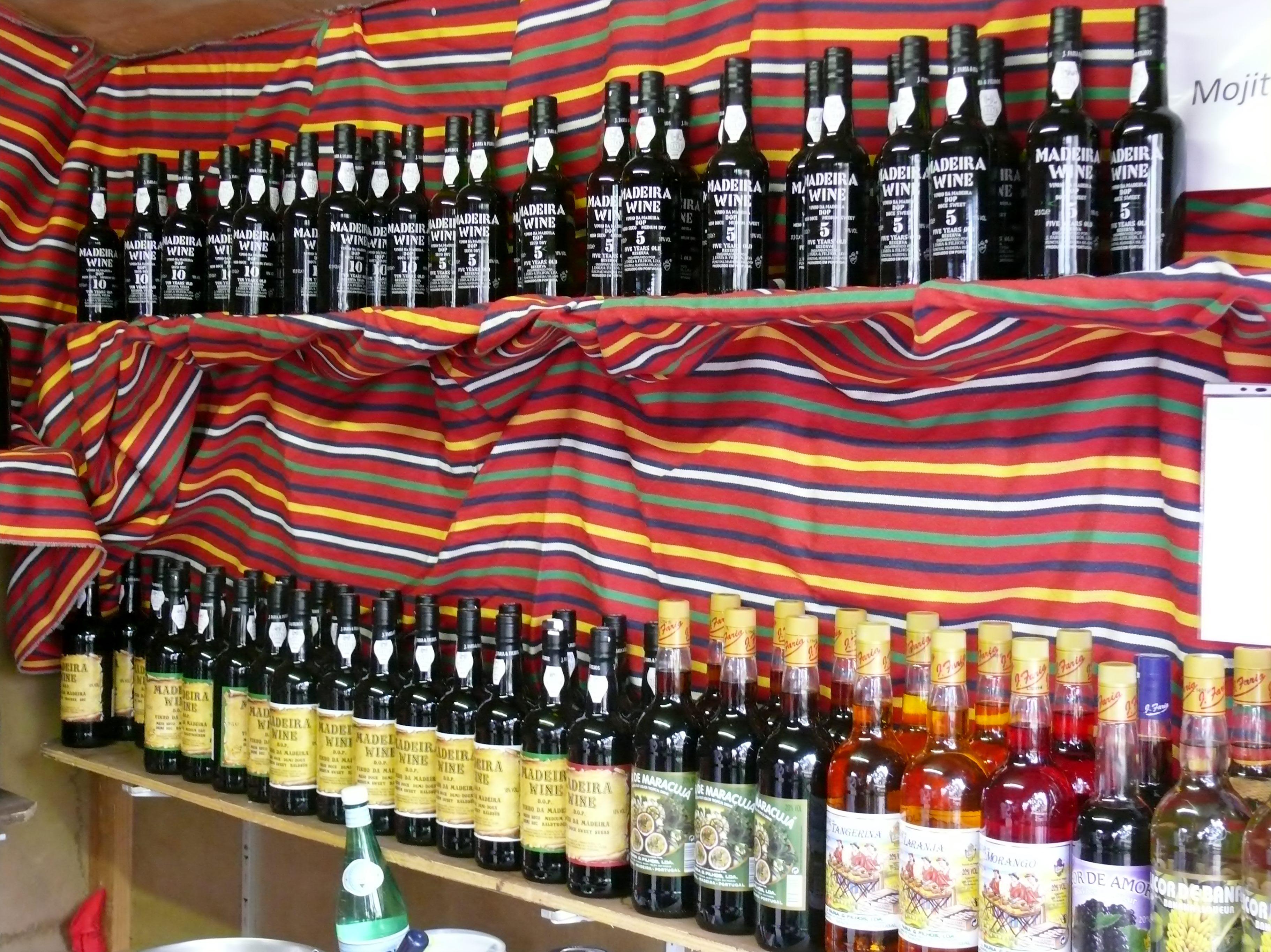 Madeira Wine Festival Stall Madeira Wine And Dine