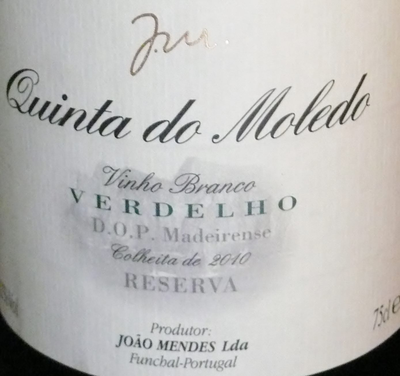 Verdelho table wine