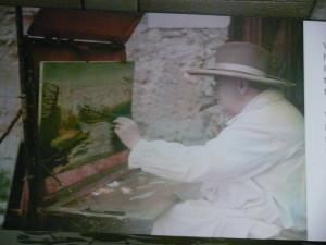 Winston Churchill in Madeira