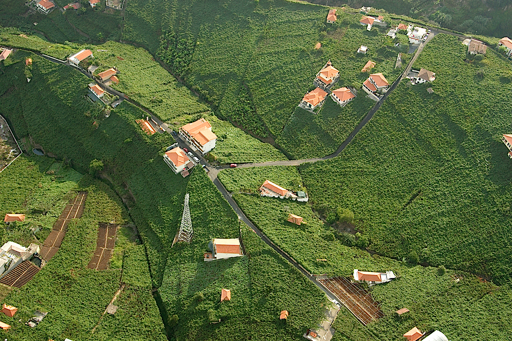 Madeira vineyards aerial (Blandy's)
