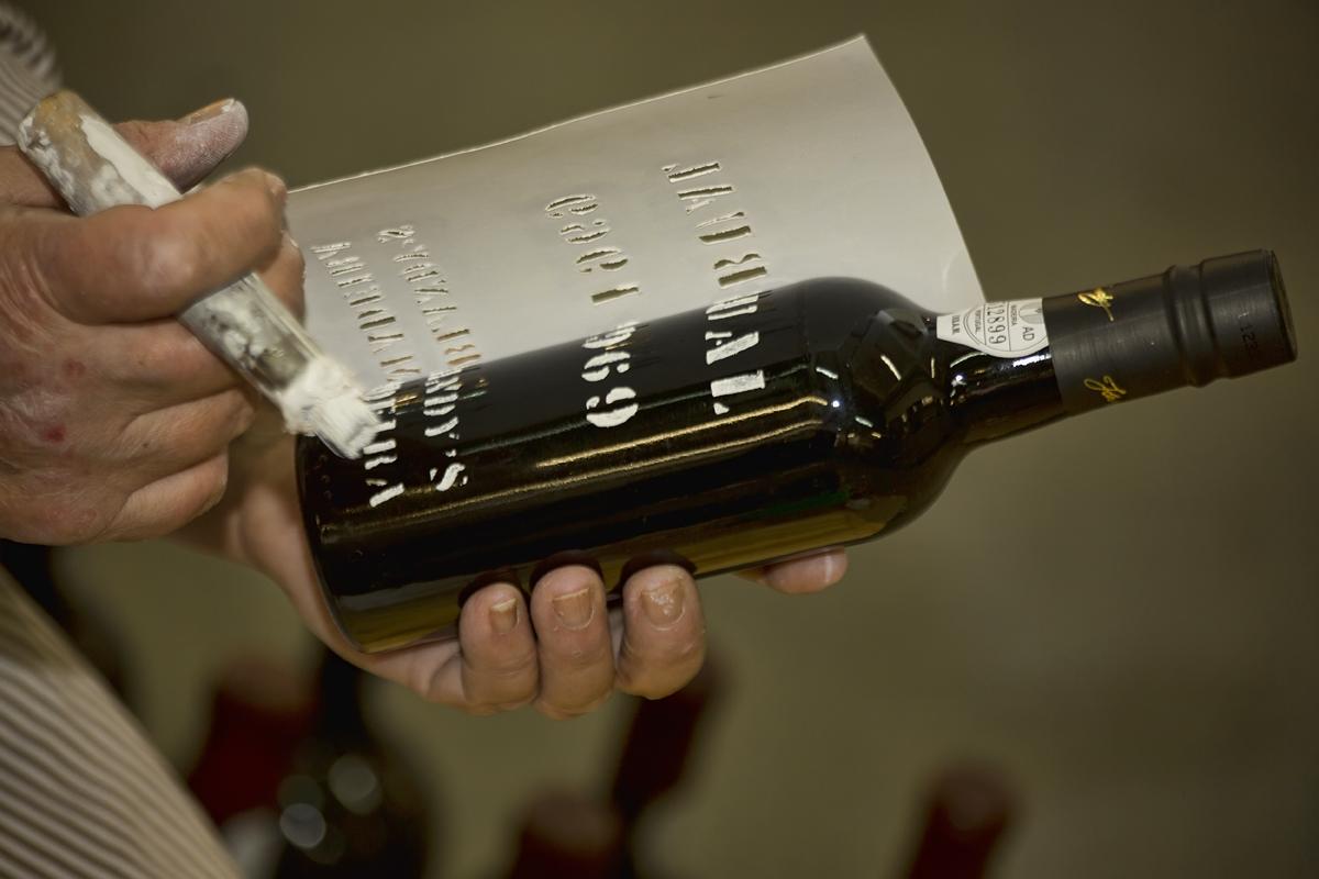Madeira bottle labels