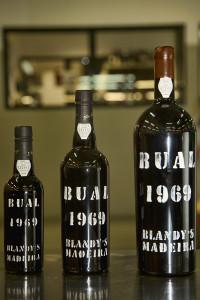 Bual Madeira wine 1969