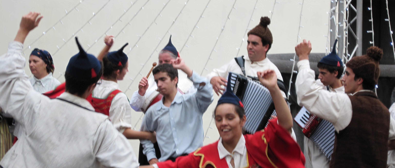Madeira Wine festival dancing
