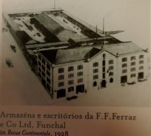 Ferraz Madeira winery 1928
