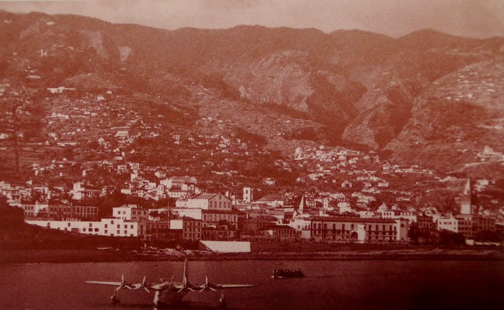 Funchal and a flying boat