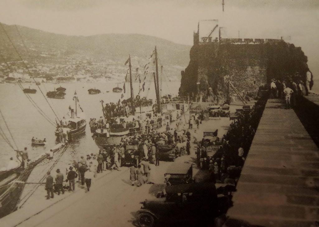 Funchal breakwater 1900