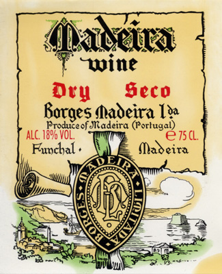 Borges old label
