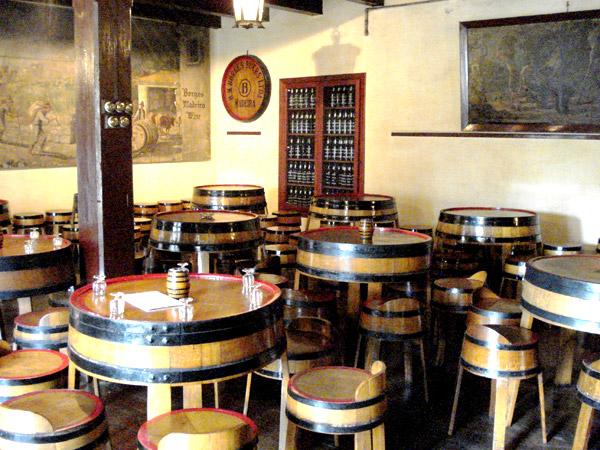 Borges tasting room