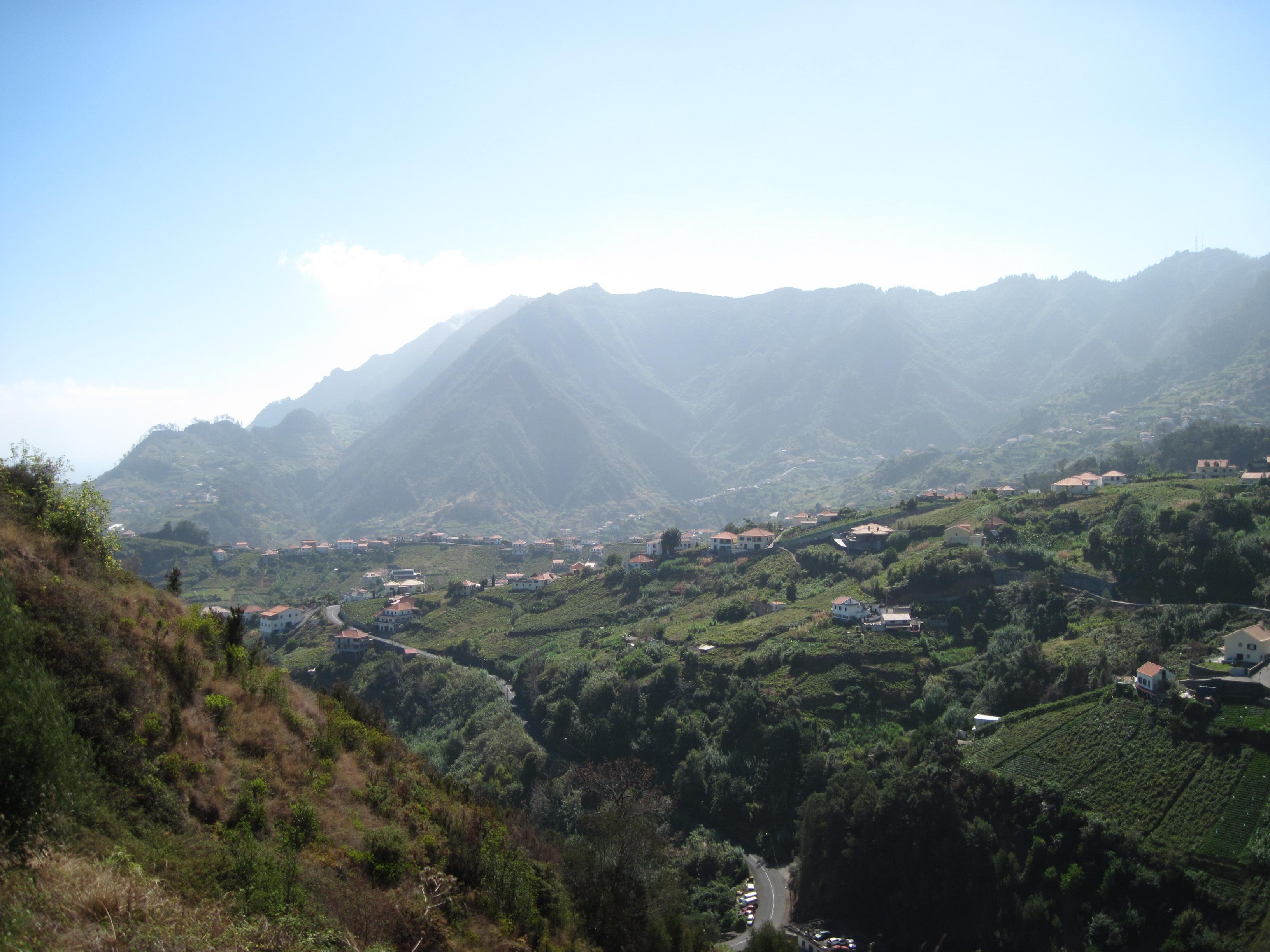 Madeira farming vista