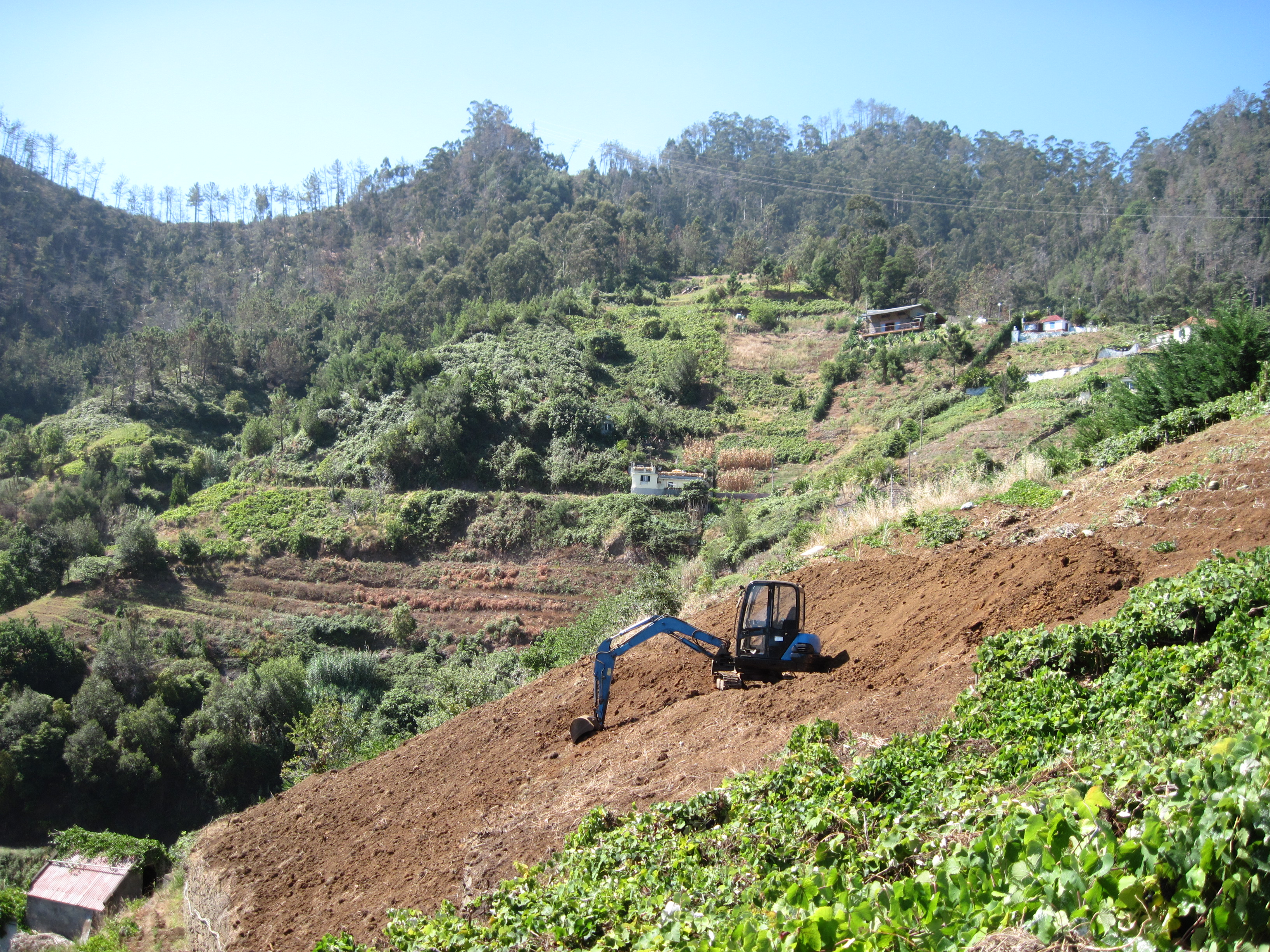 Mechanisation in farming on Madeira