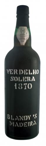 Blandy's 1870 solera Madeira