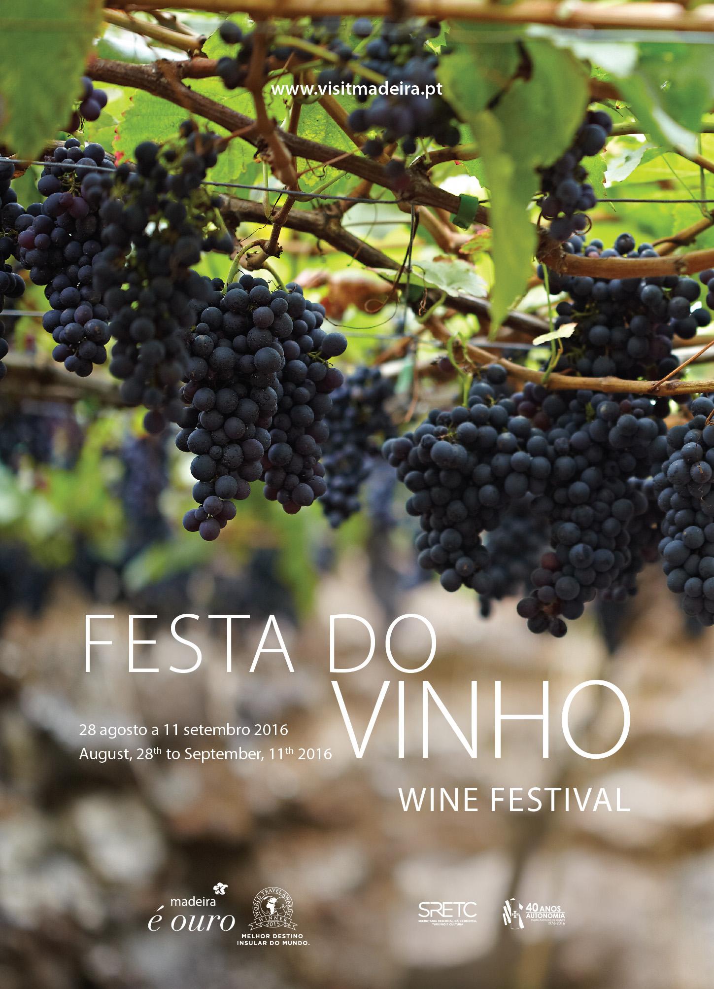 Madeira wine festival 2016 poster