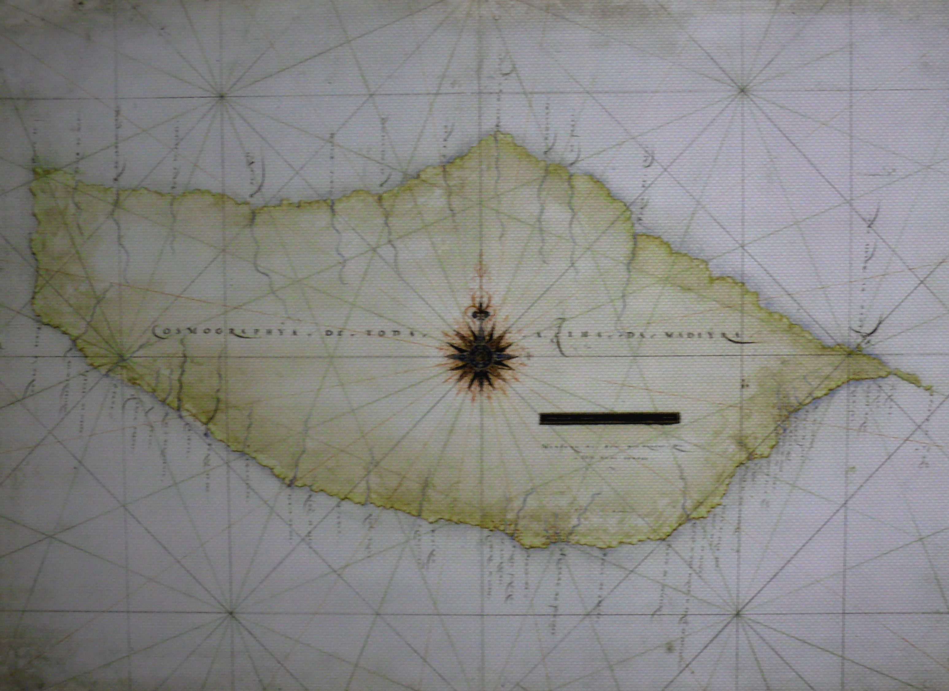 An Early chart of Madeira