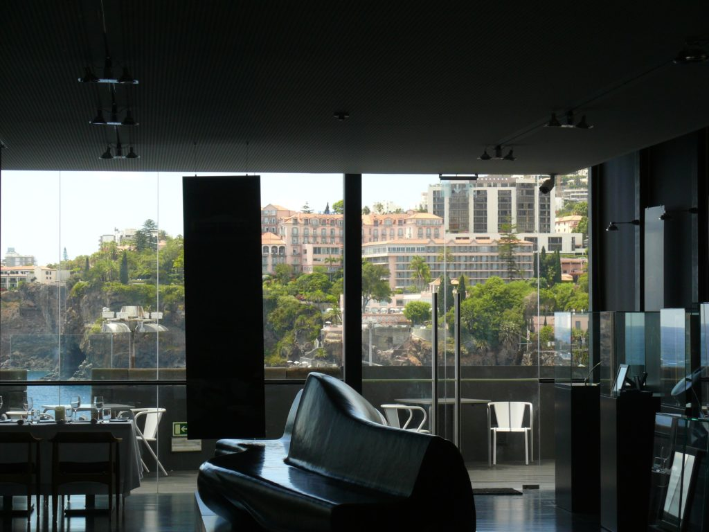 Design Centre dining with a view of Funchal's finest hotels