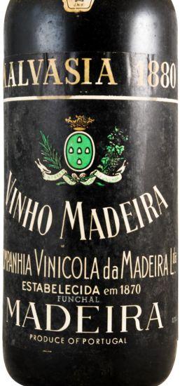 1880 Madeira wine Malmsey C.V.M.