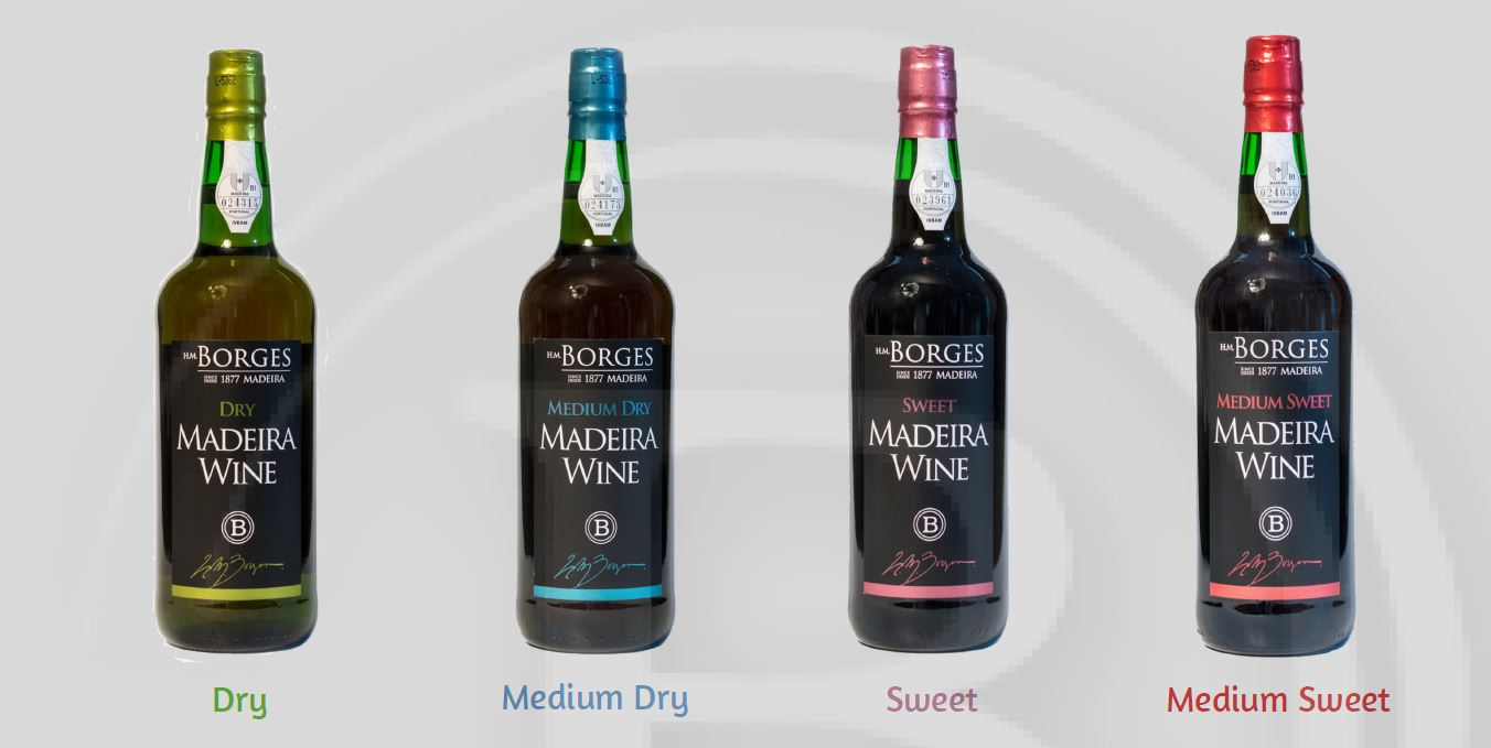 Borges 3 years old Madeira wines