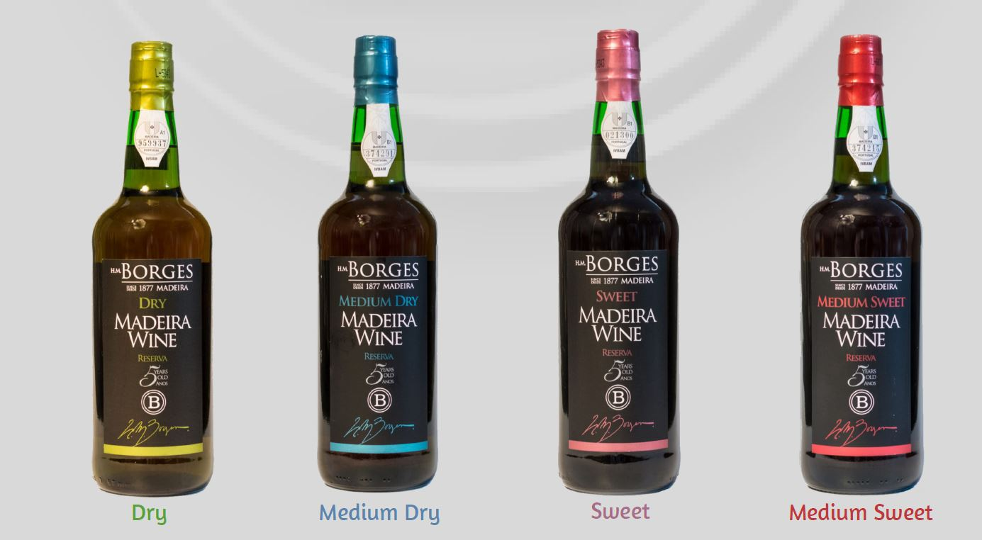 Borges 5 years old Reserve Madeira wines