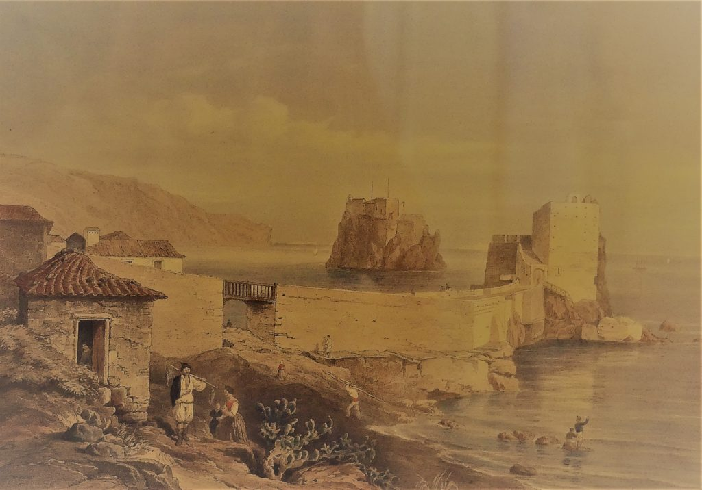 Funchals breakwater forts in the early days