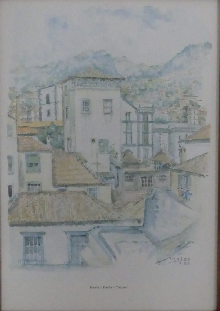 a Sketch of Funchal