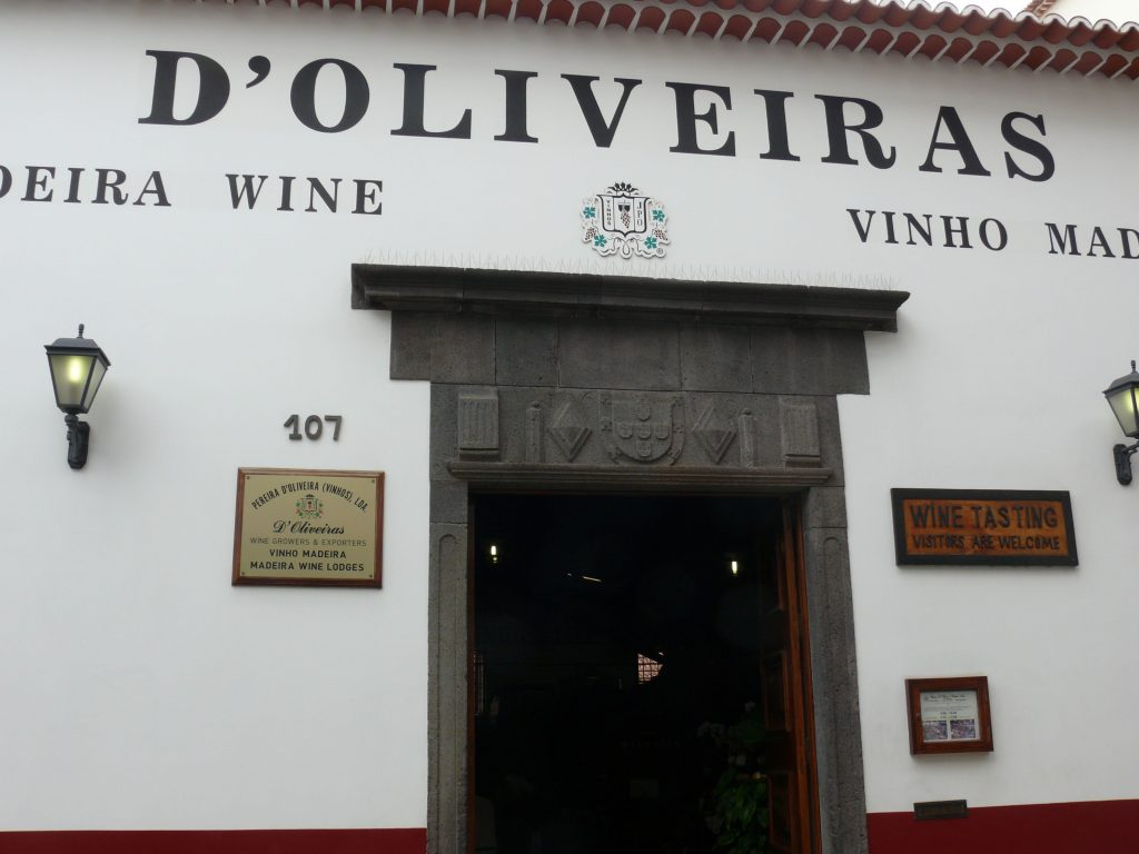 D'Oliveiras wine lodge, Funchal, Madeira