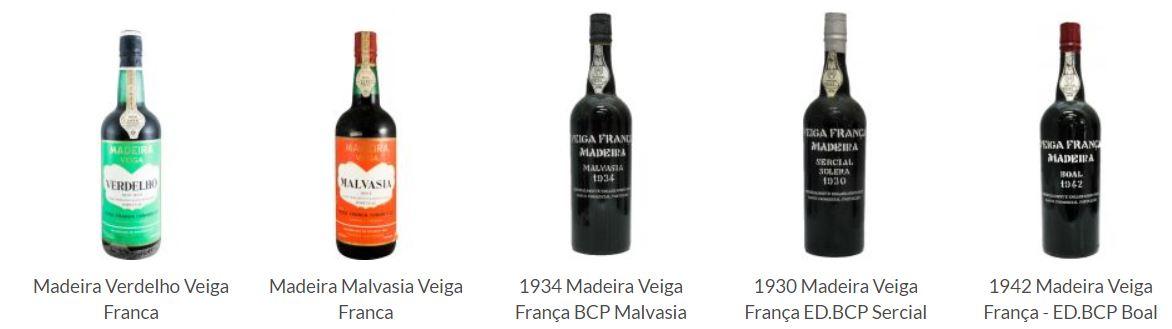 Veiga França Madeira wine (Garrafeira Nacional, Lisbon)