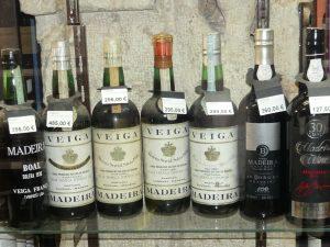 Veiga Madeira wines