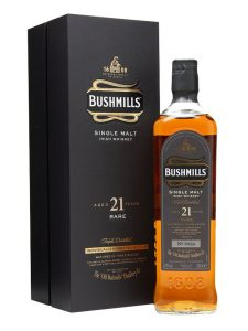 Bushmills Madeira cask whisky 21 years old